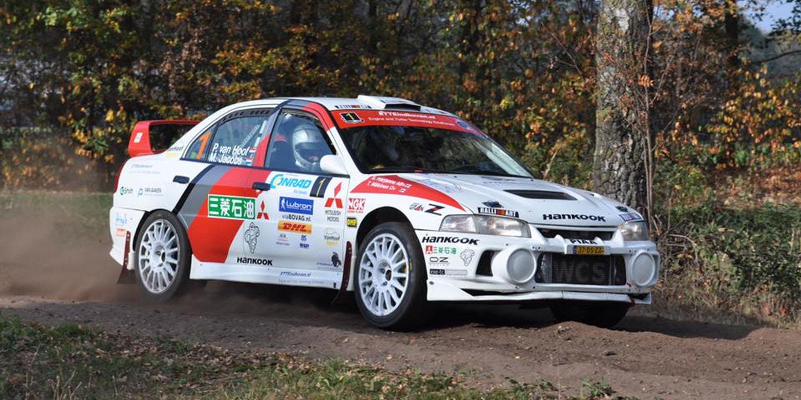 Winnaars Conrad Twente Rally 2018